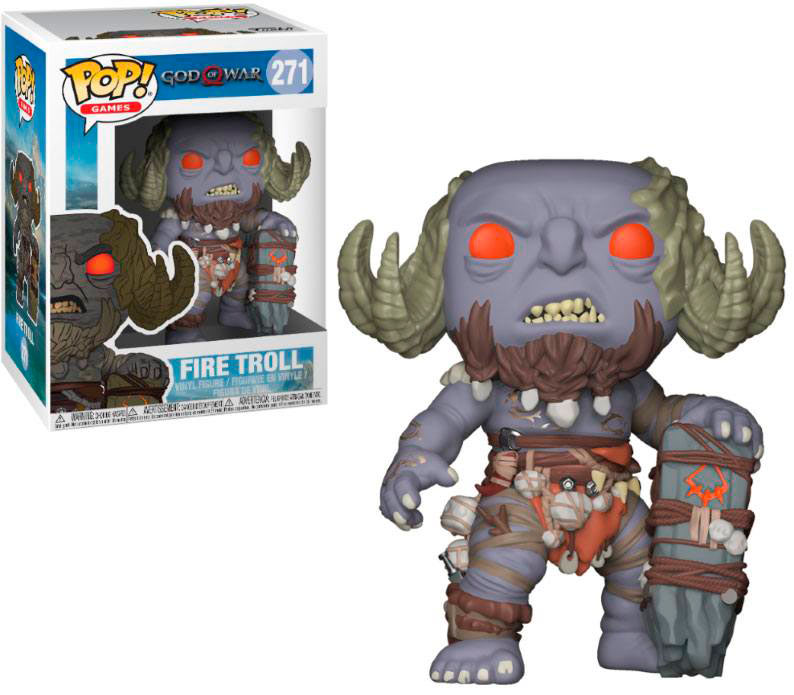 Funko POP Fire Troll 9 cm. God of War