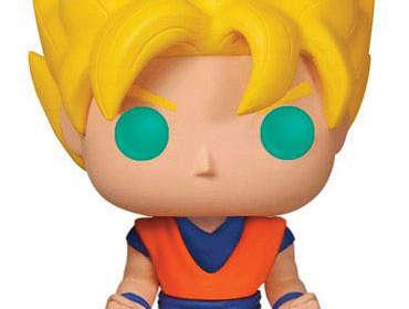 Funko POP Goku Super Saiyan 10 cm. Dragon Ball Z