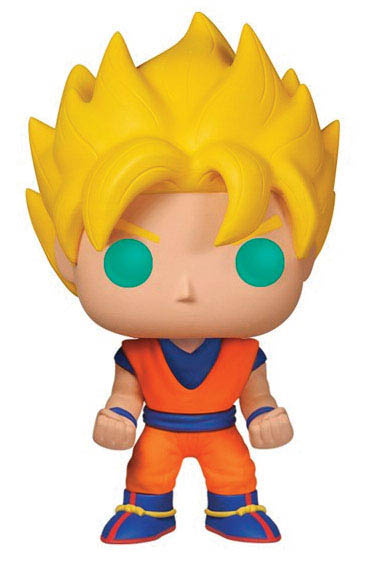 Funko POP Goku Super Saiyan 10 cm. Dragon Ball Z