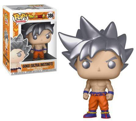 Funko POP Goku (Ultra Instinct) 9 cm. Dragon Ball Super