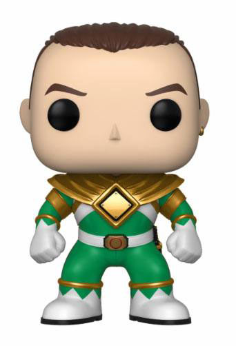 Funko POP TV Power Rangers Green Ranger 9 cm versión sin casco