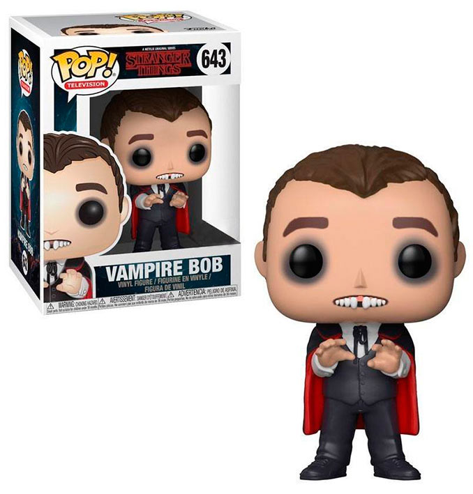 Funko POP Vampiro Bob 9 cm. Stranger Things. POP! Television