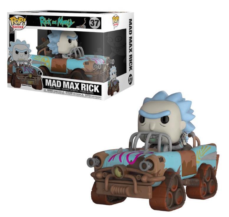 Funko Pop Mad Max Rick