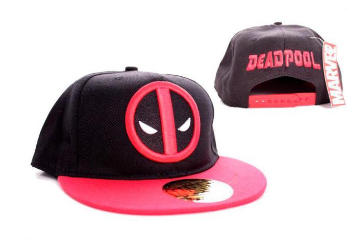Gorra béisbol logo Deadpool. Marvel Comics