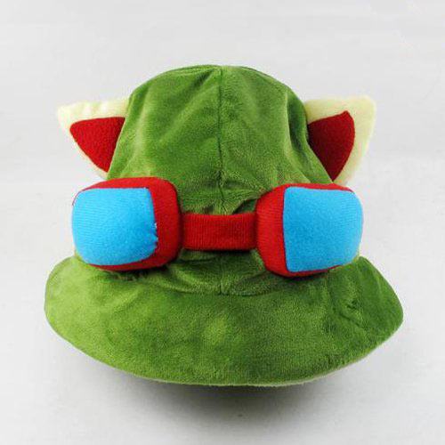 Gorro de peluche League of Legends (LOL). Teemo