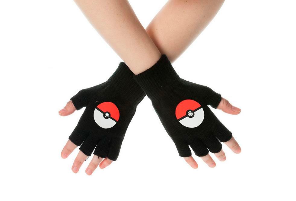 Guantes Poke Ball. Pokémon