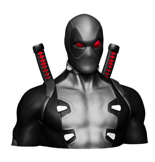 Hucha Deadpool 20 cm. X-Force. Marvel Cómics