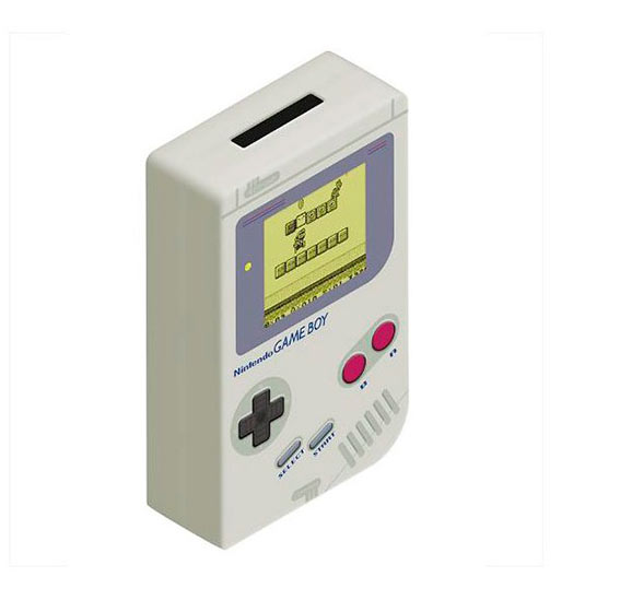 Hucha Game Boy. Nintendo