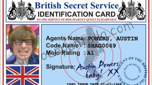 Identificador Austin Powers
