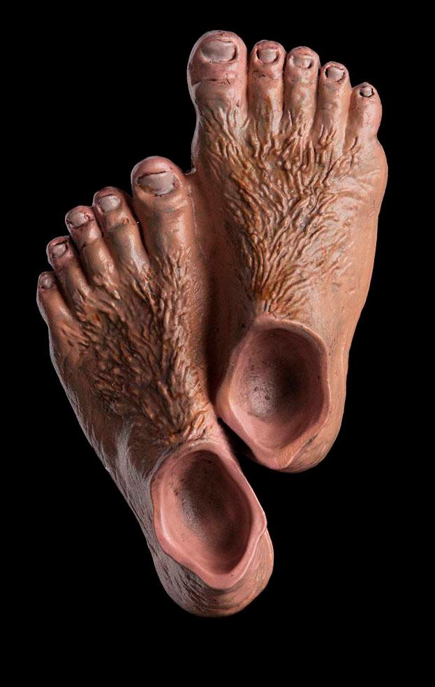 Imán Hobbit Feet. El Señor de los Anillos. Weta Collectibles