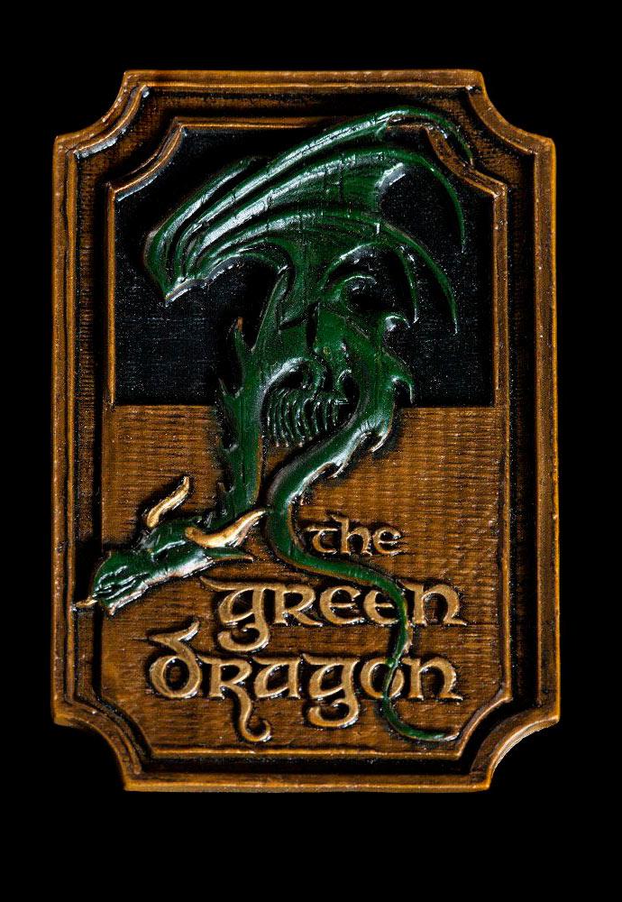 Imán The Green Dragon. El Señor de los Anillos. Weta Collectibles