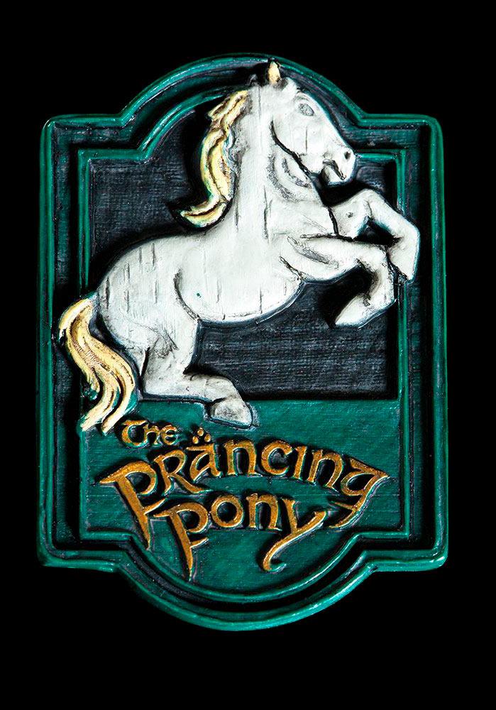 Imán The Prancing Pony. El Señor de los Anillos. Weta Collectibles