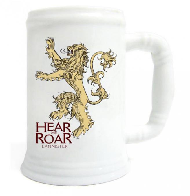 Jarra Juego de Tronos. Casa Lannister