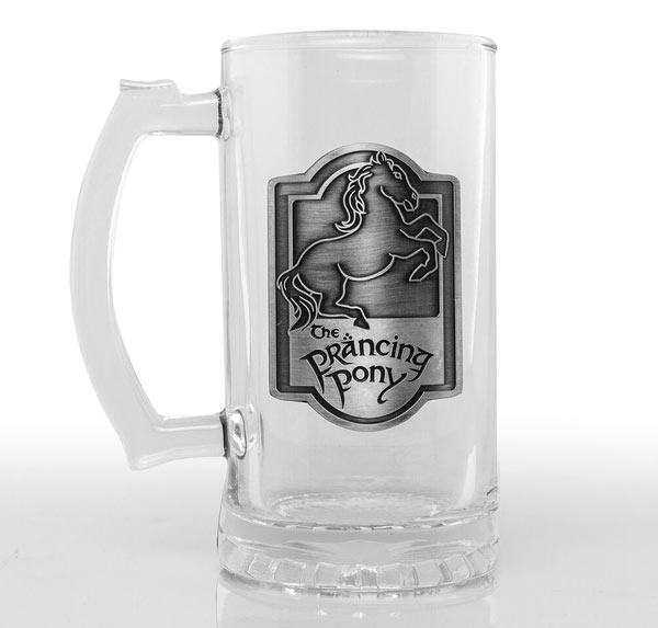 Jarra de cerveza The Prancing Pony. El Señor de los Anillos