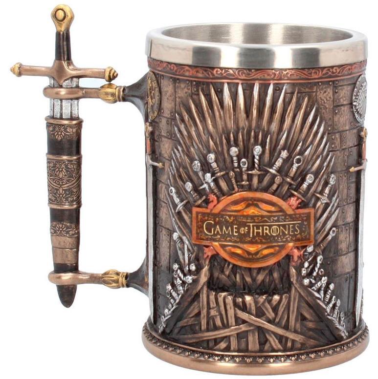 Jarra de cerveza Trono de Hierro. Juego de Tronos Deluxe