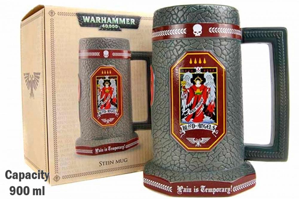 Jarra de cerveza Warhammer 40K
