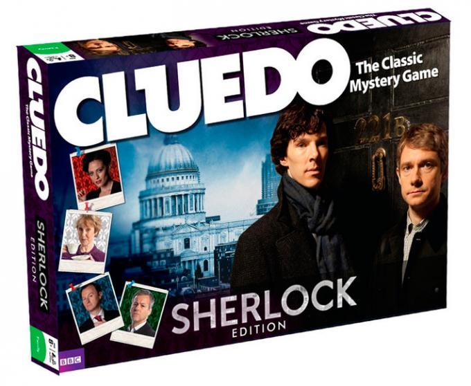 Juego de Mesa Cluedo Sherlock (Serie TV). Edición en inglés