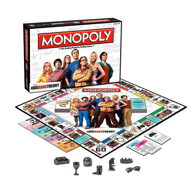 Juego de mesa Monopoly The Big Bang Theory. Versión en Ingles