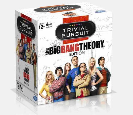 Juego de mesa Trivial. The Big Bang Theory Expansión