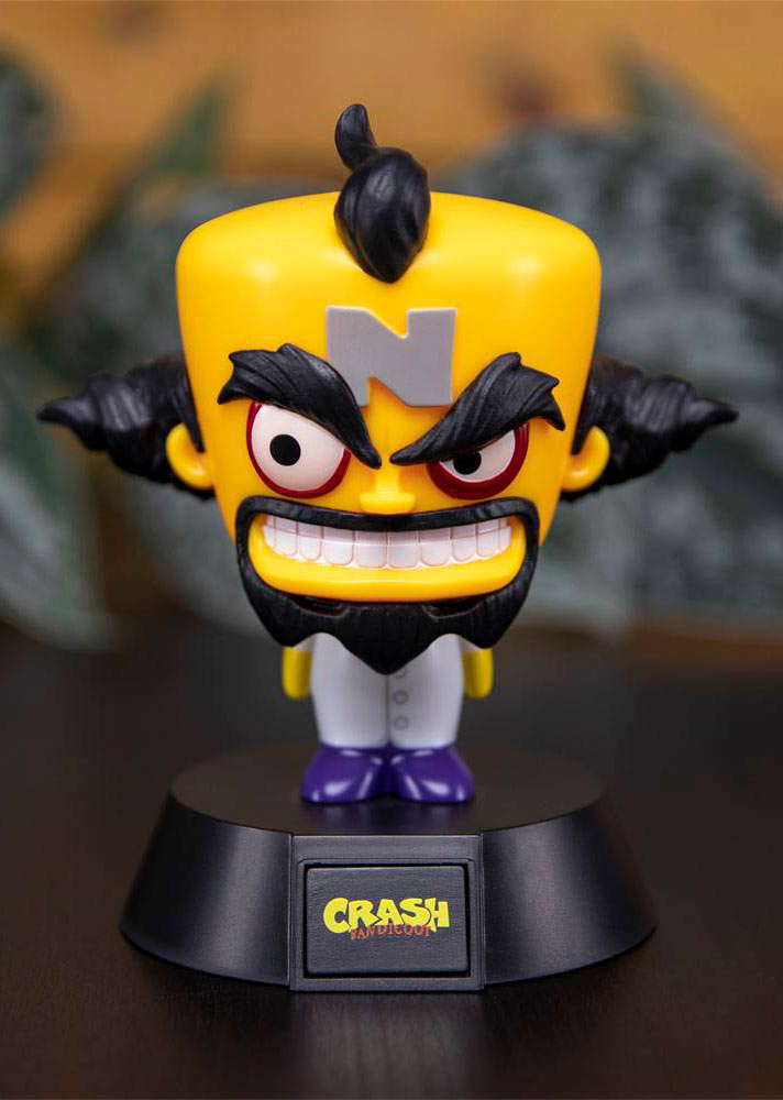 Lámpara 3D Doctor Neo Cortex 10 cm. Crash Bandicoot. Paladone