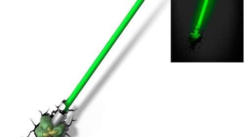 Lámpara 3D de pared Yoda