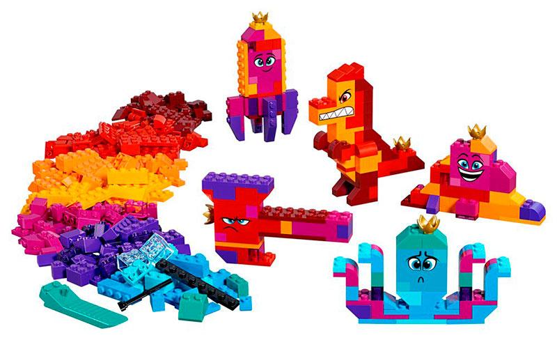 LEGO ¡Caja Construye lo que Sea de la Reina Soyloque!. La LEGO película 2. 70825