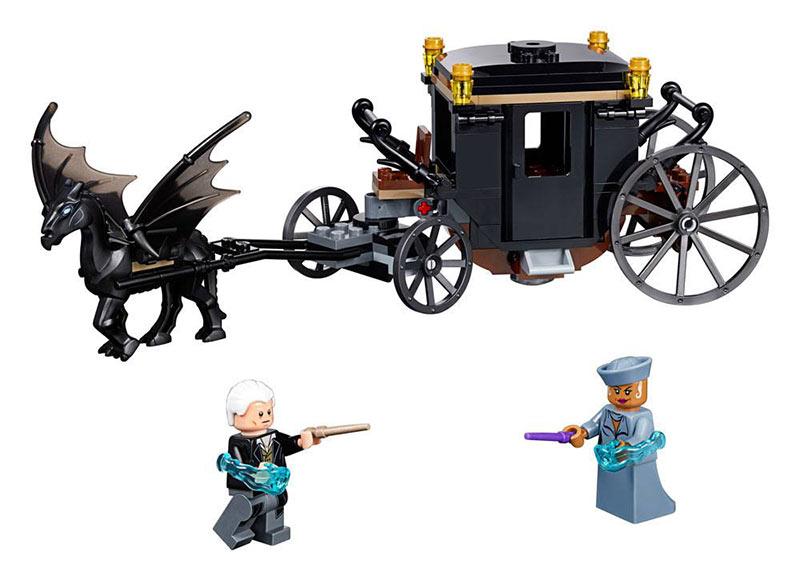 LEGO Animales fantásticos y dónde encontrarlos - Huida de Grindelwald. 75951