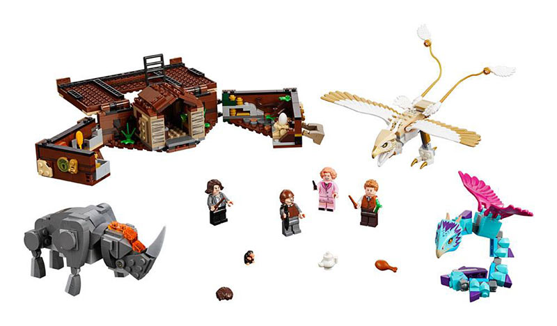LEGO Animales fantásticos y dónde encontrarlos - Maleta de criaturas mágicas de Newt. 75952