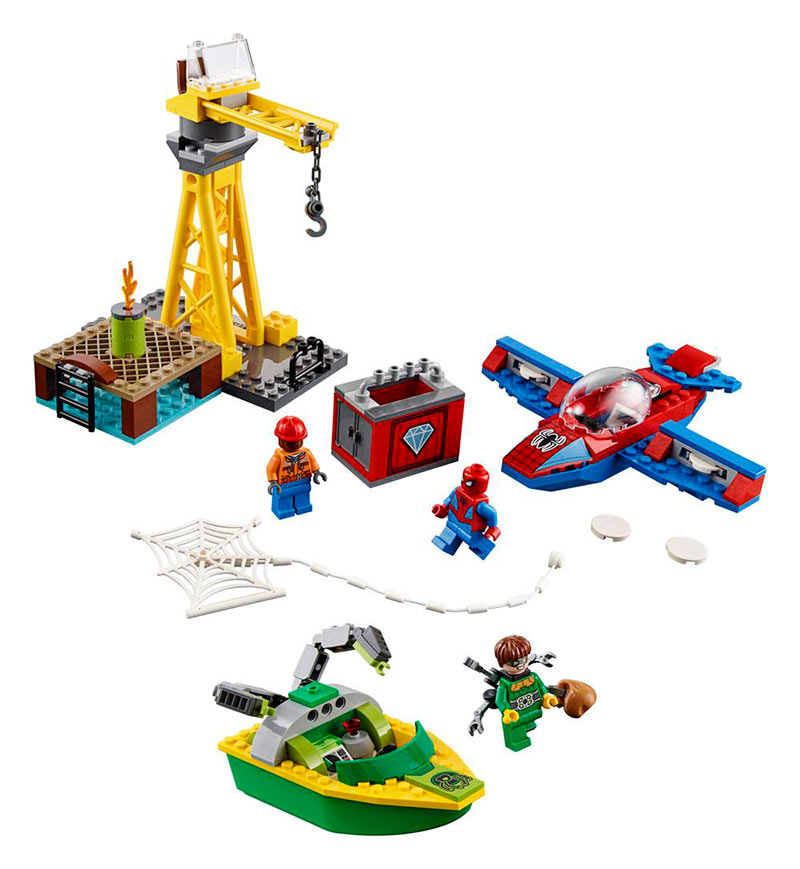 LEGO Marvel Super Heroes. Spiderman: Robo de Diamantes de Doc Ock. 76134