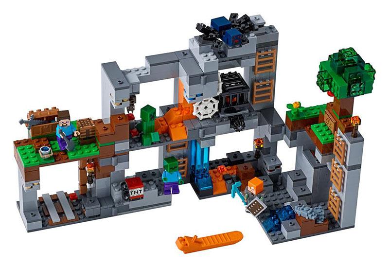LEGO Minecraft Las aventuras subterráneas. 21147