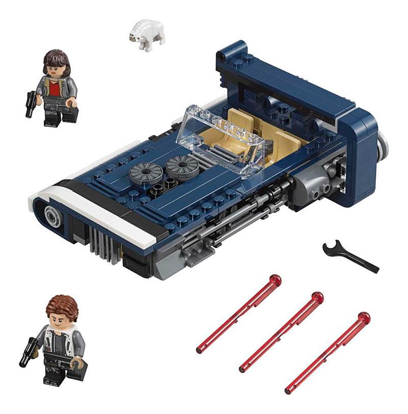 LEGO Speeder terrestre de Han Solo: Una Historia de Star Wars. 75209