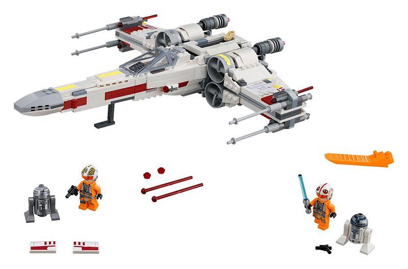 Lego Star Wars Classic - Caza estelar Ala-X. 75218