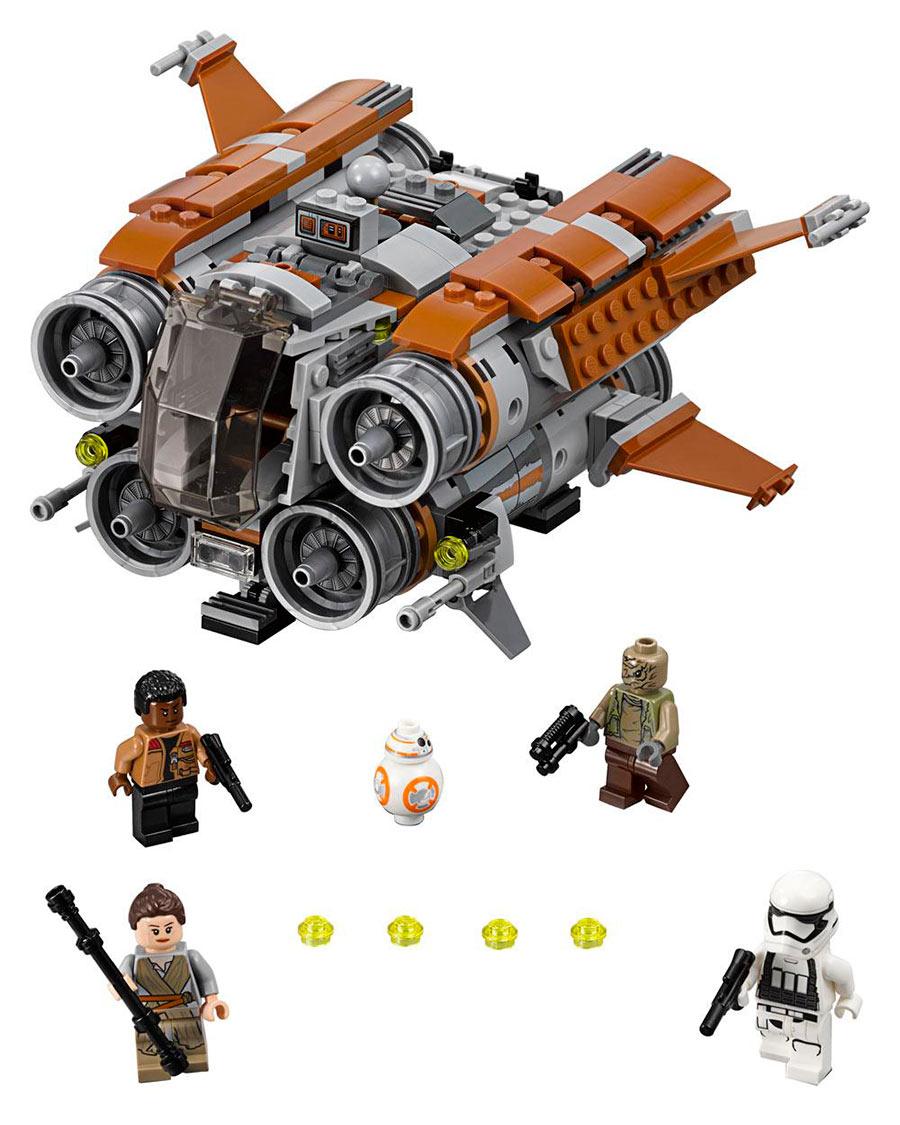 Lego Star Wars: El Despertar de la Fuerza. Quadjumper de Jakku. 75178