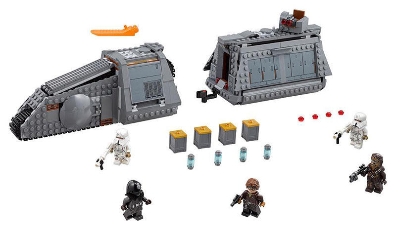 Lego Star Wars Imperial Conveyex Transport. 75217