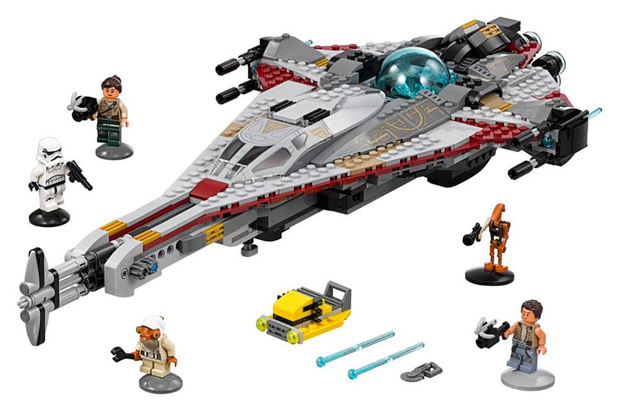 Lego Star Wars. The Freemaker Adventures The Arrowhead. 75186