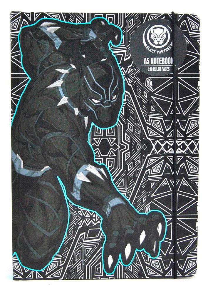 Libreta A5 Black Panther. Marvel Cómics