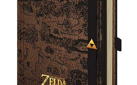 Libreta A5 Mapa Hyrule. The Legend of Zelda