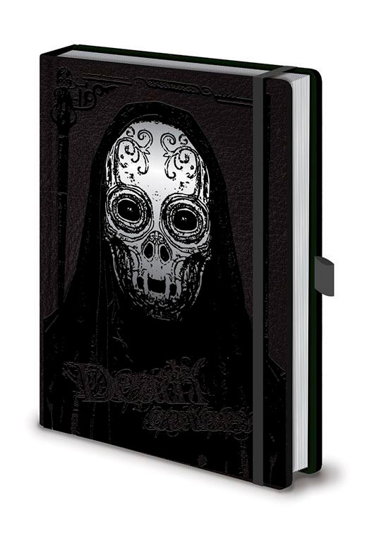 Libreta A5 Premium Death Eater. Harry Potter. Pyramid International