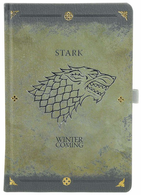 Libreta A5 Stark Worn Juego de Tronos. Pyramid International