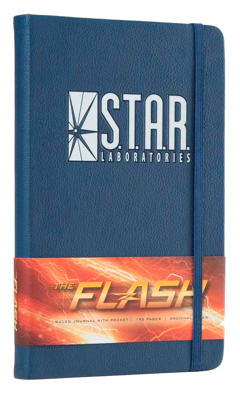 Libreta Logo S.T.A.R. Labs. The Flash. Insight Collectibles