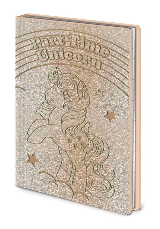 Libreta Premium A6 Part Time Unicorn. My Little Pony