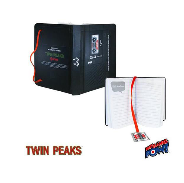 Libreta Twin Peaks. Bif Bang Pow!