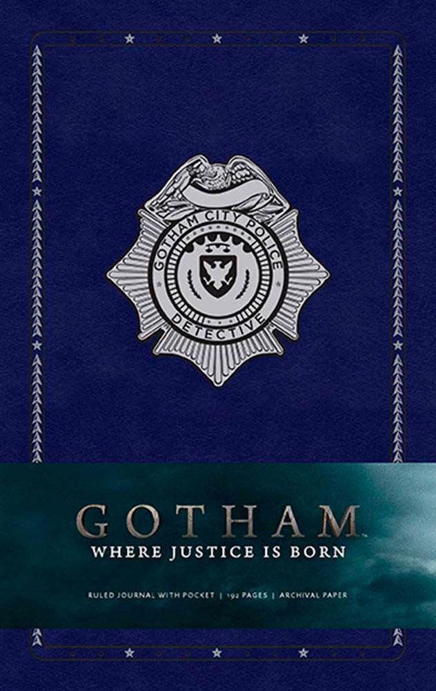 Libreta Where Justice Is Born Gotham. Insight Collectibles