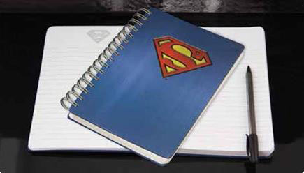 Libreta logo Superman