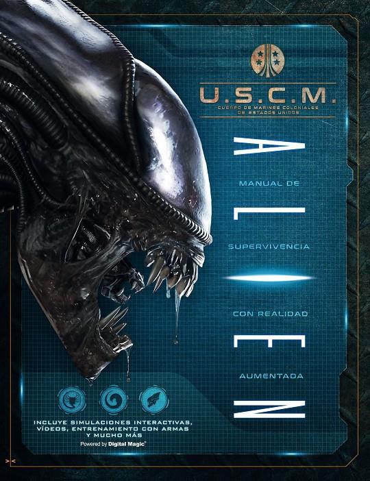 Libro Alien. Manual en realidad aumentada