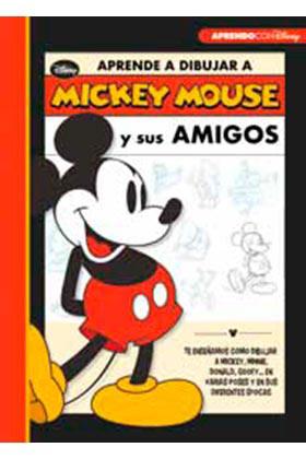 Libro Aprende a dibujar con Mickey Mouse y sus amigos