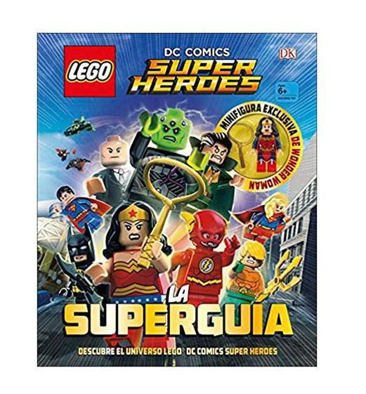 Libro DC. Comics Super Héroes.La Superguía