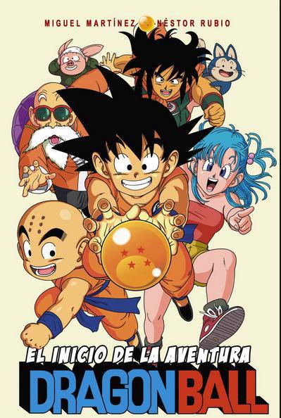 Libro Dragon Ball: El inicio de la Aventura
