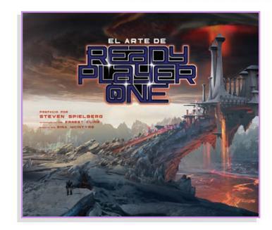 Libro El Arte de Ready Player One