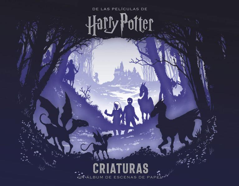 Libro Harry Potter: Criaturas. Un Álbum de Escenas de Papel